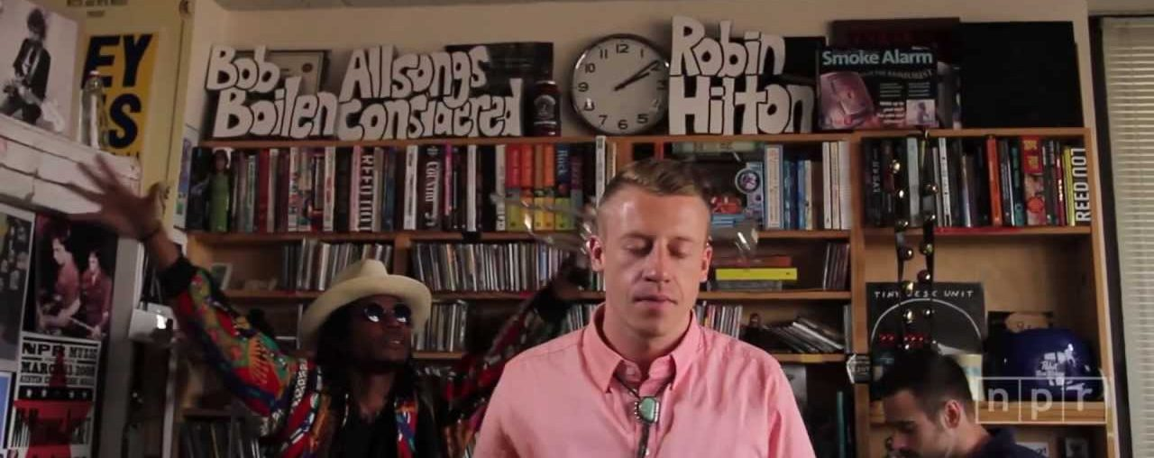 NPR Tiny Desk Concert w/ Macklemore & Ryan Lewis